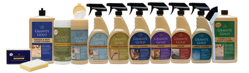 Granite Gold Stone Care range