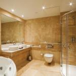 travertine bath