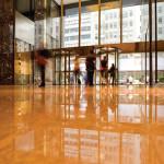 commercial floor shine
