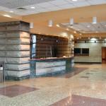 commercial stone desk