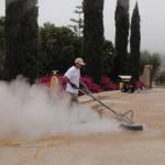 concrete honing