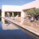 pool stone hone