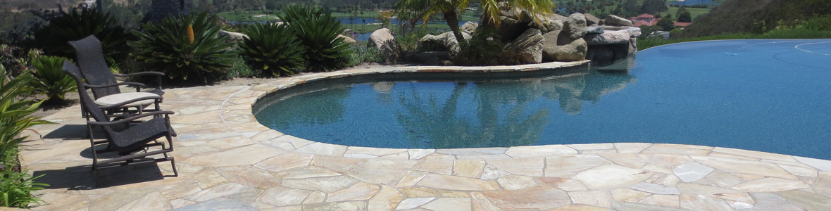 pool stone surface