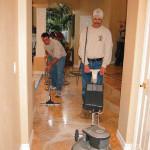 marble honing hallway