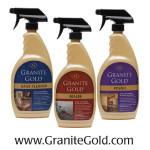granite gold bottles