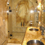 entire bathroom stone cleaning