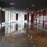 indoor commercial polished floor