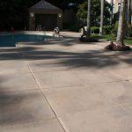 concrete pool area sealing