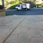 concrete van driveway