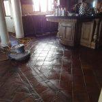 kitchen pavers shine