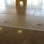 floor repair before